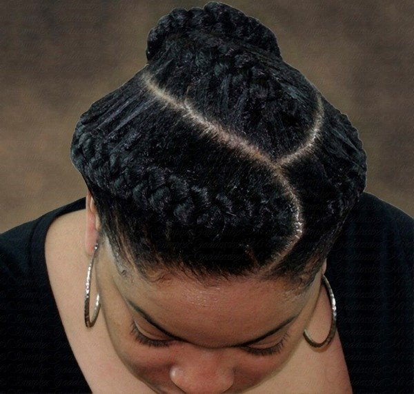 Braids French Bob Weave Hairstyles
