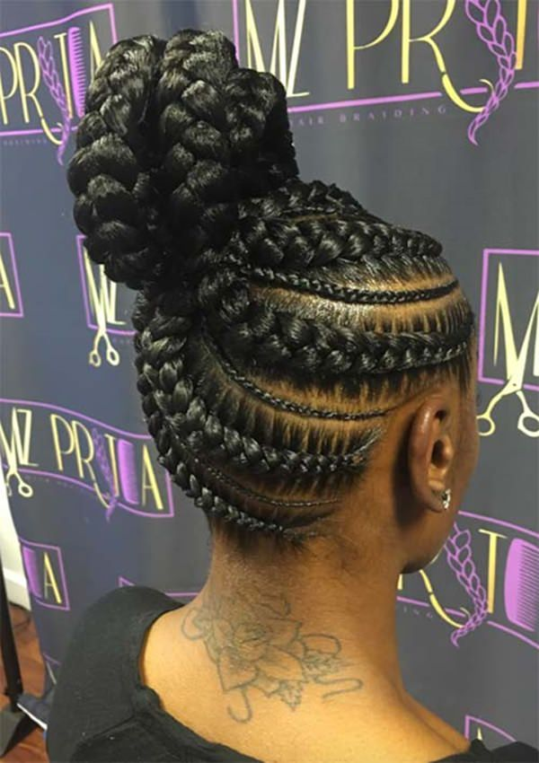 125 Goddess Braids All About This Hot Hairstyle