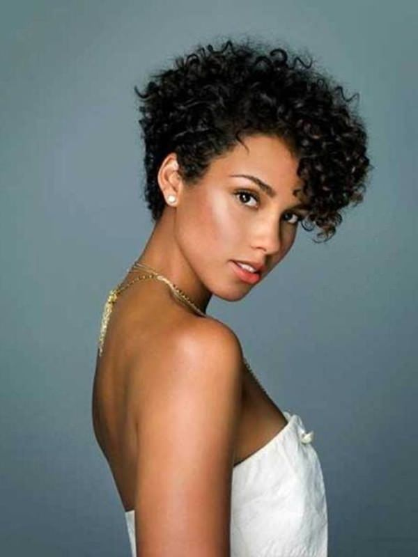 Back Of Short Black Hairstyles 10 Nice Short Curly Hairstyles For ...