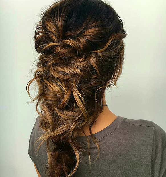 99 Most Fashionable Prom Hairstyles This Year