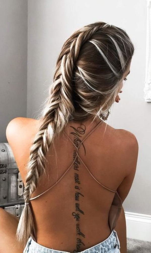 175 Meaningful Back Spine Tattoos For Women And Men