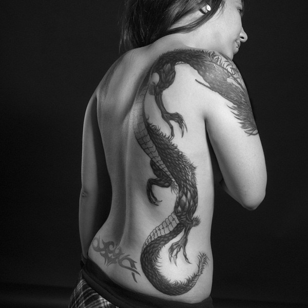 70 Chinese and Japanese Dragon Tattoo Designs and their Actual Meanings