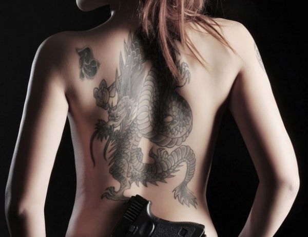 800ca738d Women, meanwhile, see dragon tattoos as a sign of bravery and independence.  One of the best areas for them to acquire a dragon tattoo is on the side of  ...