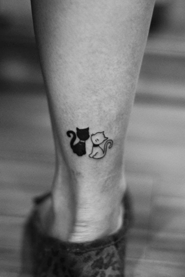 95cc1c66d088b Animated and cute cat tattoos are also highly popular, especially among the  youth – Since they represent a cat's playfulness and purity.