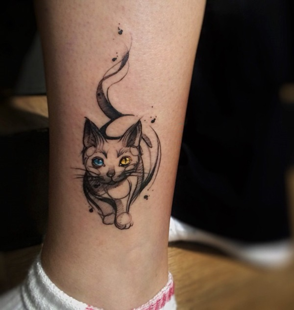 70 Cute Cat Tattoo Designs And Ideas