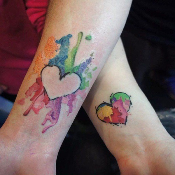Cute Matching Tattoos for Couples in Love