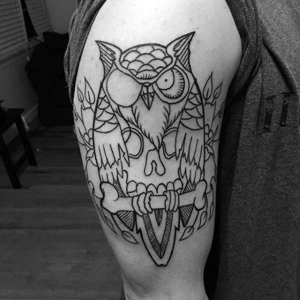 175 Cute And Traditional Owl Tattoo Designs With Their Meanings