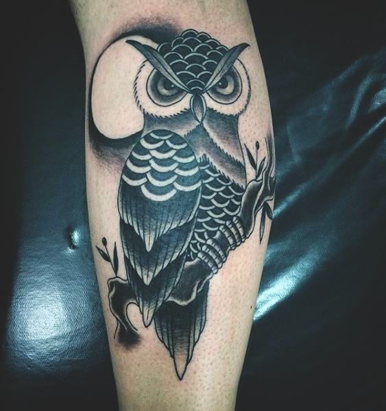 8f3638359 The final result of an owl tattoo will all depend on whoever wears it, as  well as their cultural beliefs.