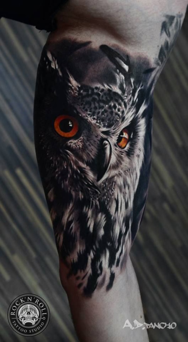 175 Cute and Traditional Owl Tattoo Designs with their Meanings ...