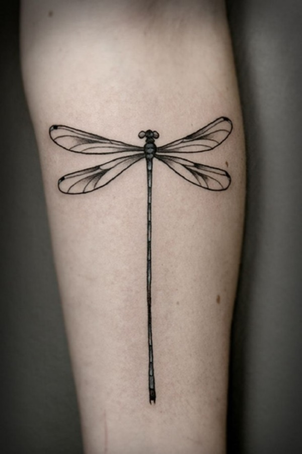 Dragonfly Wings Tattoo