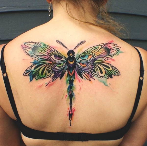 125 Elegant Dragonfly Tattoo Designs And Ideas