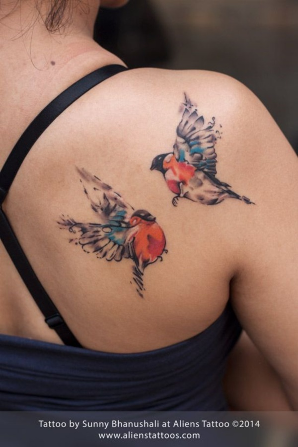 68 Small Bird Tattoo Designs to Mirror Your Passion for Flying