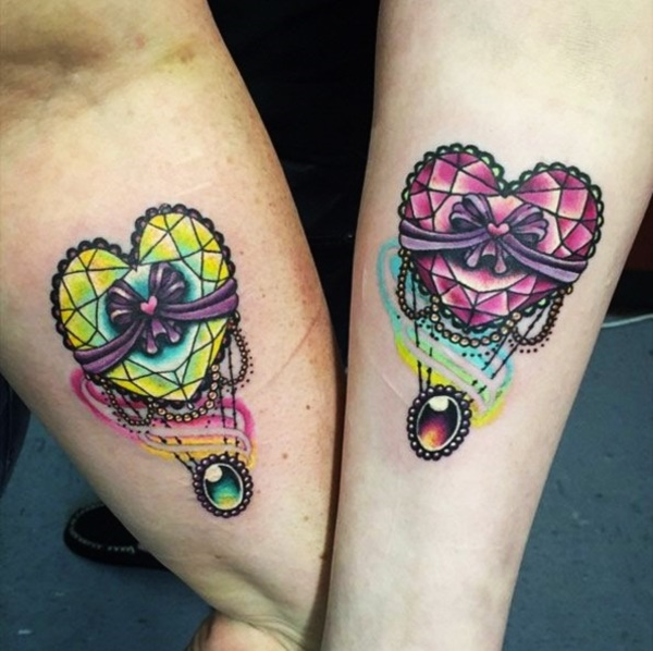 Girly Best Friend Tattoos: 160+ Unique Best Friend Tattoos To Mark A Special Connection