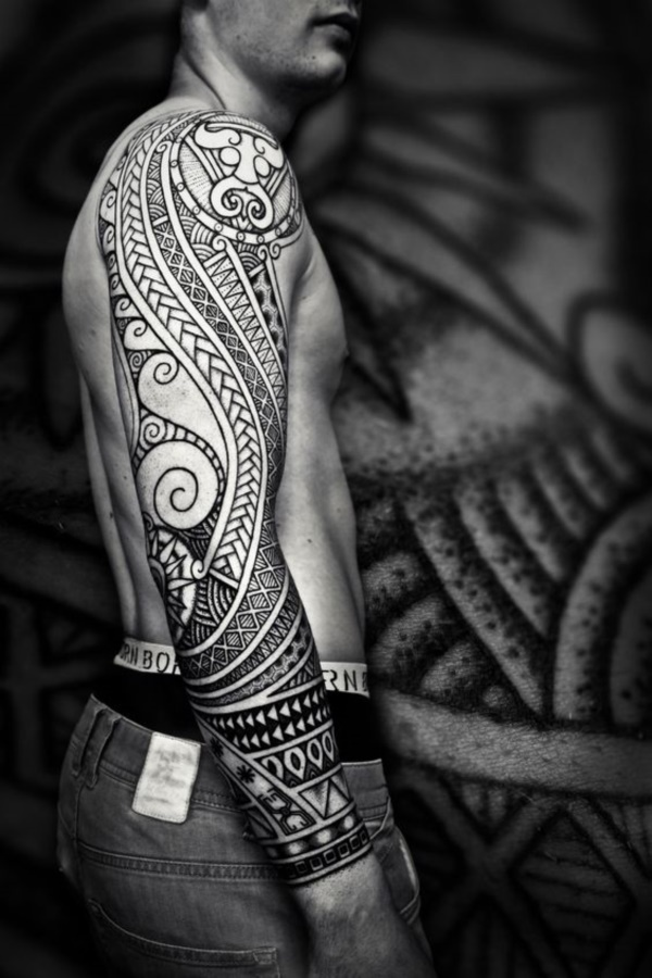 Unique Polynesian Tribal Tattoos with Meanings