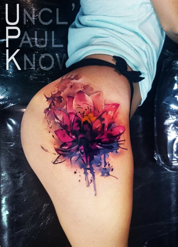 155 Best Temporary Watercolor Tattoo Designs To Try