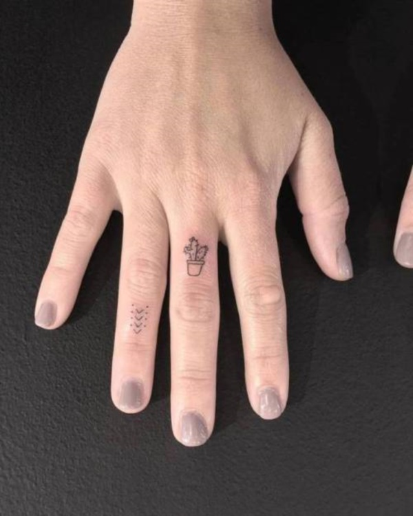 155 Cute Finger Tattoo Ideas That Ll Inspire You To Get Inked