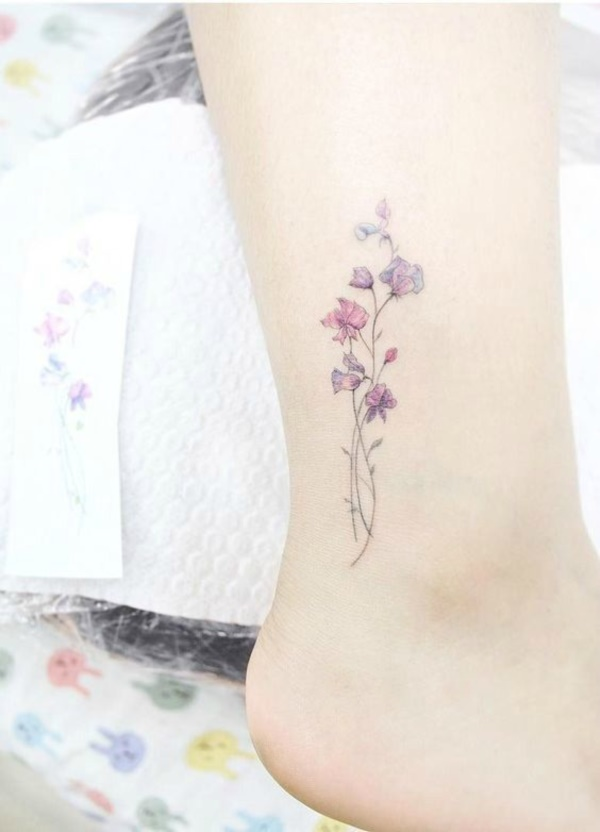 155 Cute And Small Flower Tattoo Designs To Feel The Fragrance