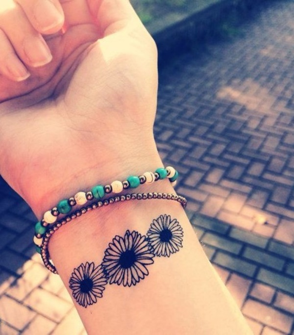 Cute Tattoo Ideas: 155 Cute And Small Flower Tattoo Designs To Feel The Fragrance