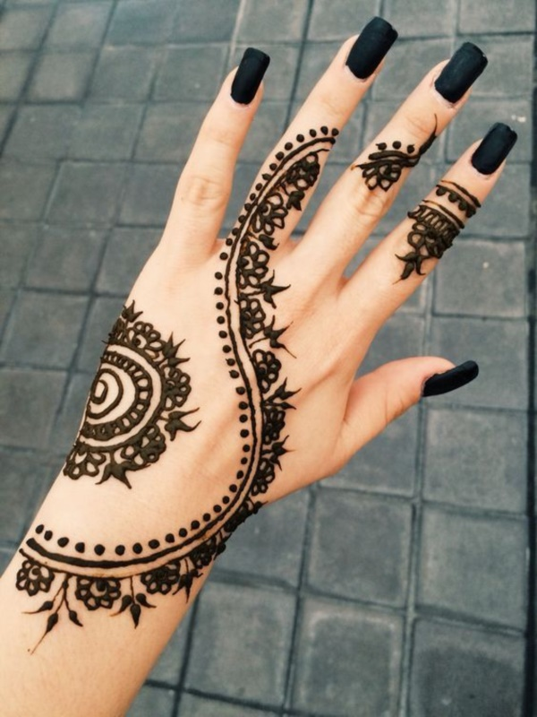24 Henna Tattoos By Rachel Goldman You Must See: 125+ Simple And Beautiful Henna Tattoo Designs