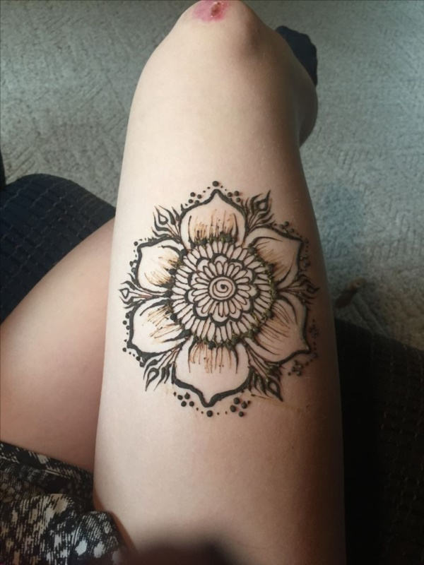 Simple Henna Tattoo Flower Designs: 125+ Simple And Beautiful Henna Tattoo Designs