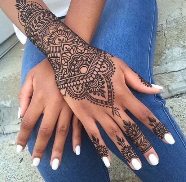 125 Simple And Beautiful Henna Tattoo Designs