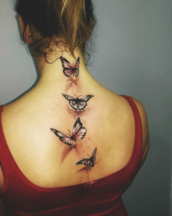 d33ec470d 180 Unique Butterfly Tattoos and Images that are just BEST