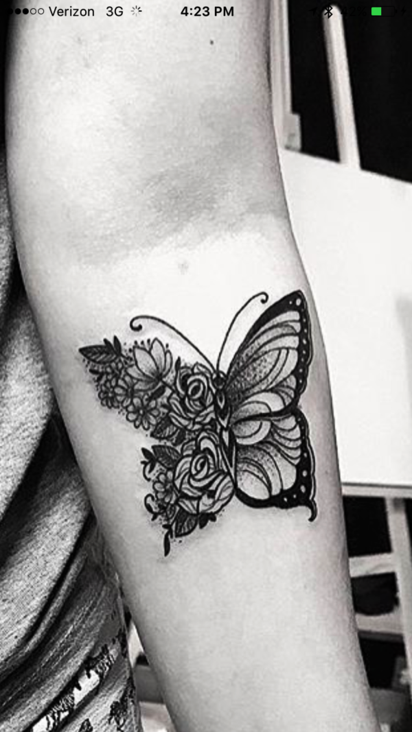 f98123297ddd5 180 Unique Butterfly Tattoos and Images that are just BEST