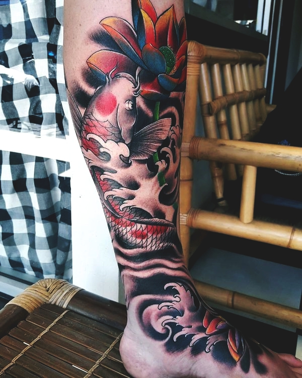 145 Traditional Koi Fish Tattoo Designs And Meanings
