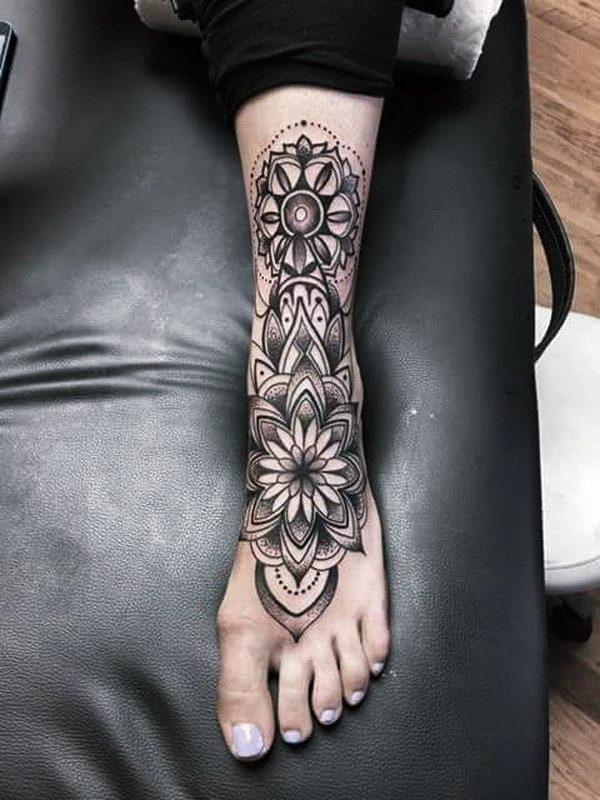 6f8504295df76 The Right Placement For Your Foot Tattoos. Every type of tattoo ...