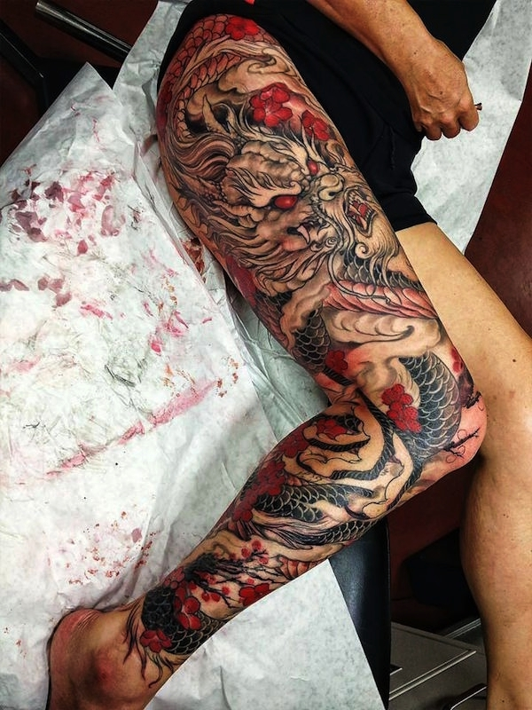 80 Sexy Thigh Tattoo Designs As Your Romantic Secret
