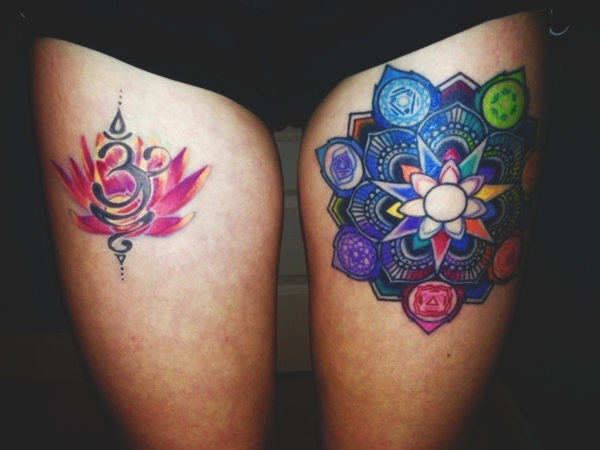80 sexy thigh tattoo designs as your romantic secret reachel for How much does a thigh tattoo cost
