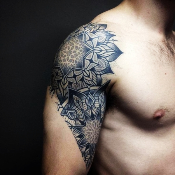 insanely cool shoulder tattoos inspiration designbump