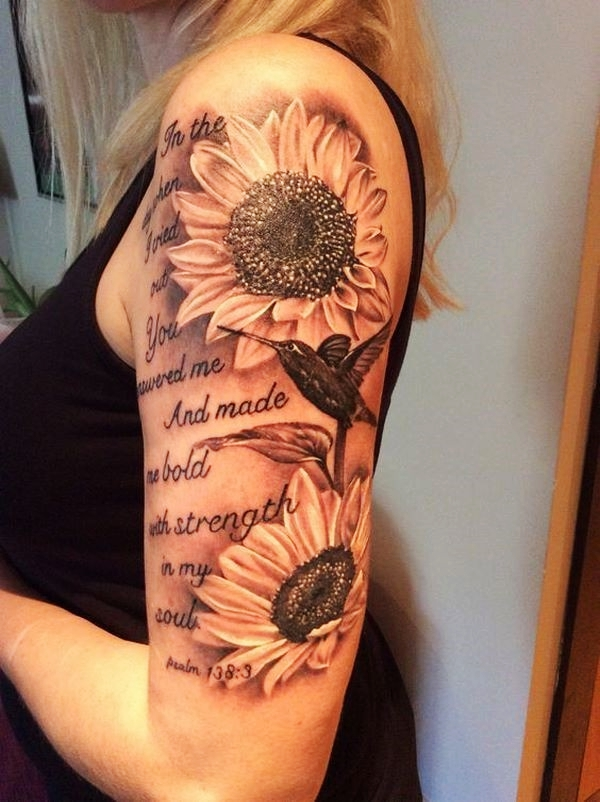 Small Sunflower Tattoo Meaning: 80 Beautiful Sunflower Tattoo Designs With Meanings