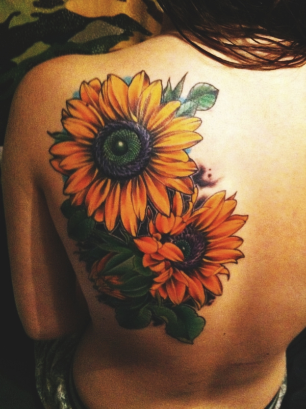 80 Beautiful Sunflower Tattoo Designs With Meanings Reachel