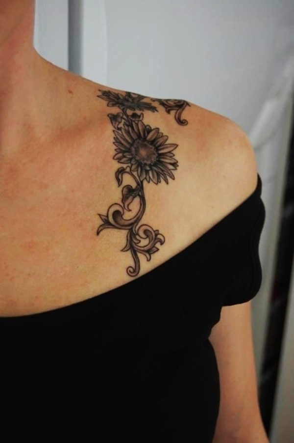 80 Beautiful Sunflower Tattoo Designs With Meanings