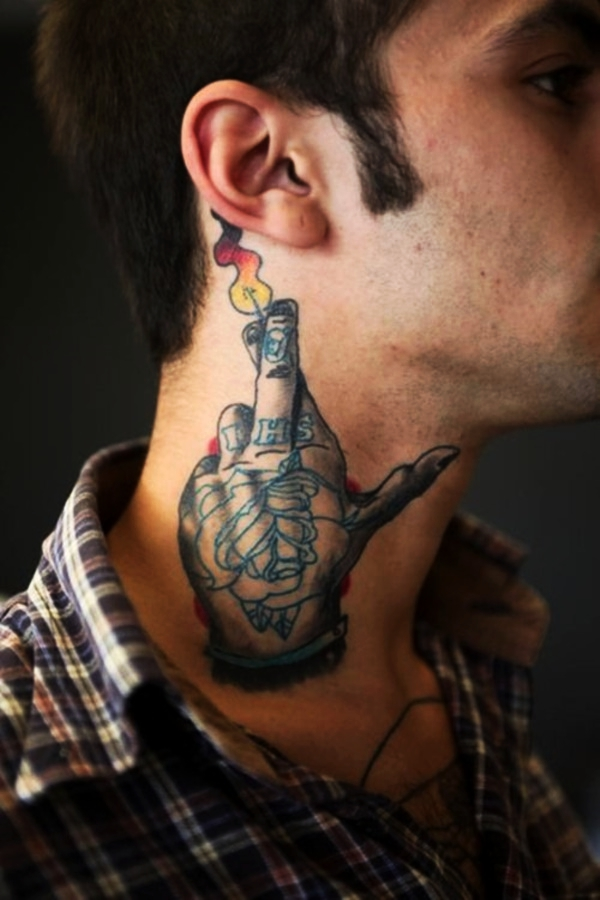 70 Best Neck Tattoo Designs for Men and Women