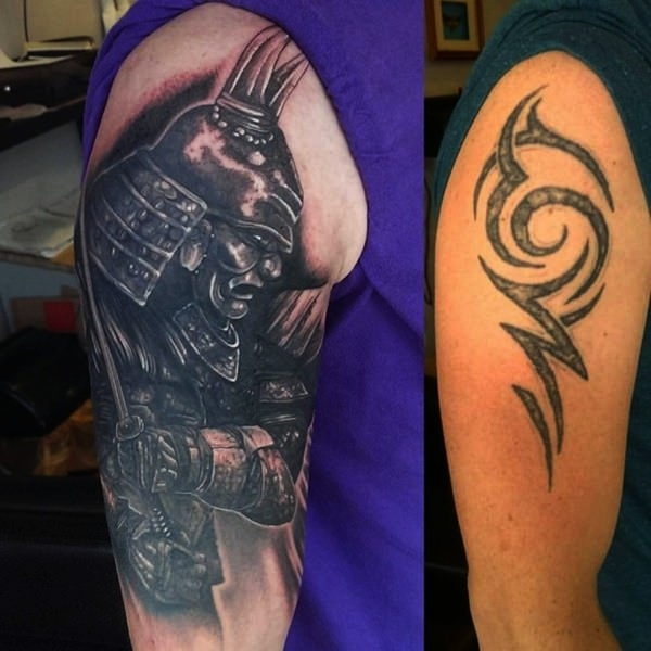 70 Cover Up Tattoo Ideas Before and After - Reachel