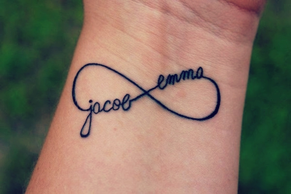 155 Infinity Symbol Tattoo With Names And Meaning