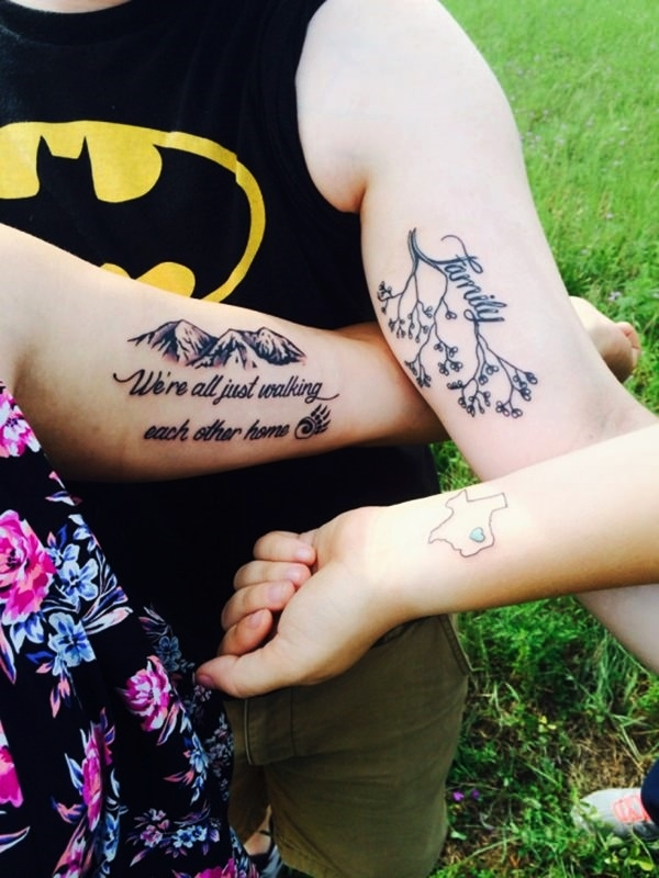 70 Meaningful Family Tattoo Designs you\'ll surely Love