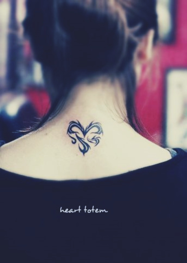 200a9ef28b32a Some people opt to get small heart tattoo designs thanks to their  significant other, while others have utilized it as a sign of love for a  family member or ...