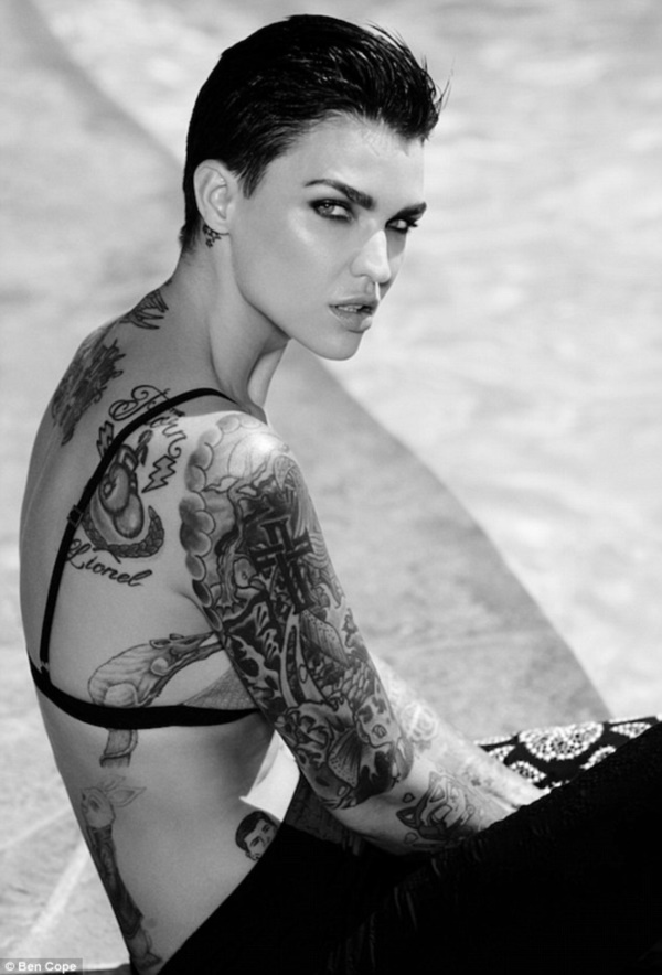 30 Ruby Rose Tattoos To Build Your Celebrity Style