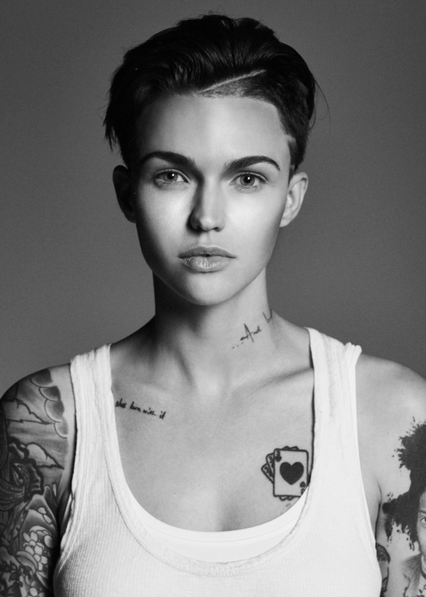 1077b8fec Among all Ruby Rose tattoos, you can find a lot of writing as it follows: