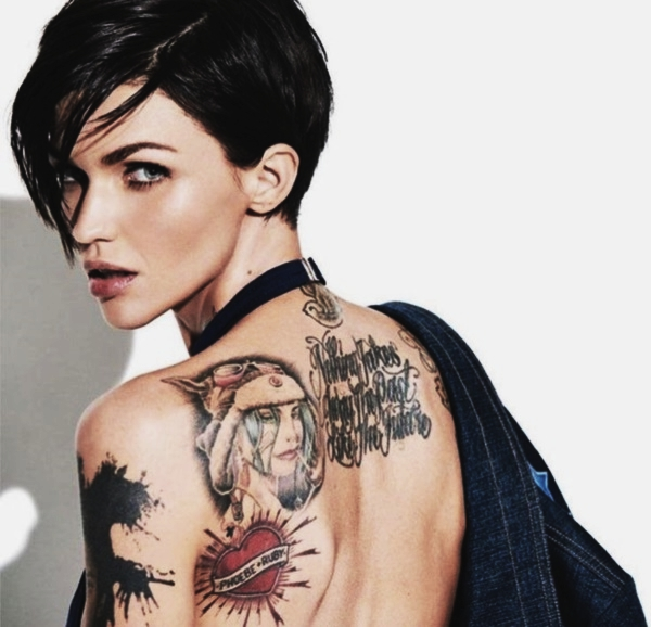 Free Comic Book Day Tank Girl: 30+ Ruby Rose Tattoos To Build Your Celebrity Style