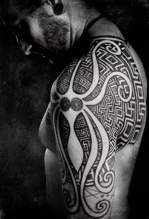40 Aztec Tattoos Symbols and Meanings that're really Great Reachel Awesome Aztec Pattern Tattoo