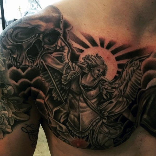 a160a641e 80 Religious Christian Tattoo Designs with Deep Meaning
