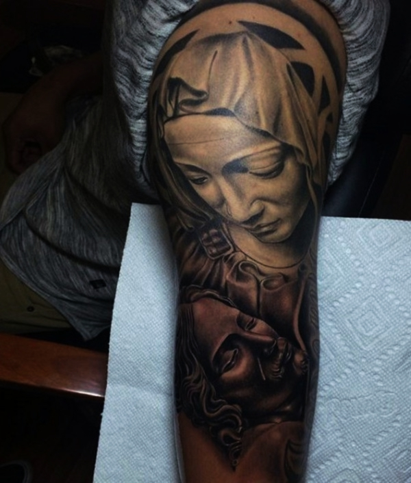 Tattoo Ideas Deep Meaning: 80 Religious Christian Tattoo Designs With Deep Meaning