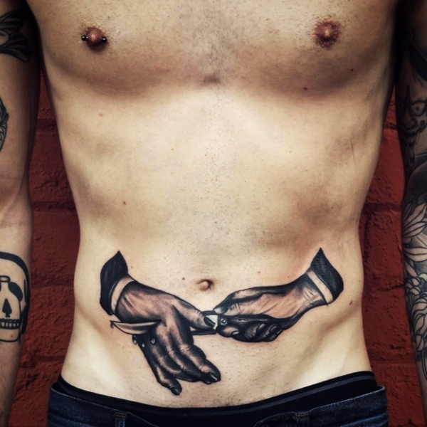 70 Jaw Dropping Side And Lower Stomach Tattoos For Both Sexes