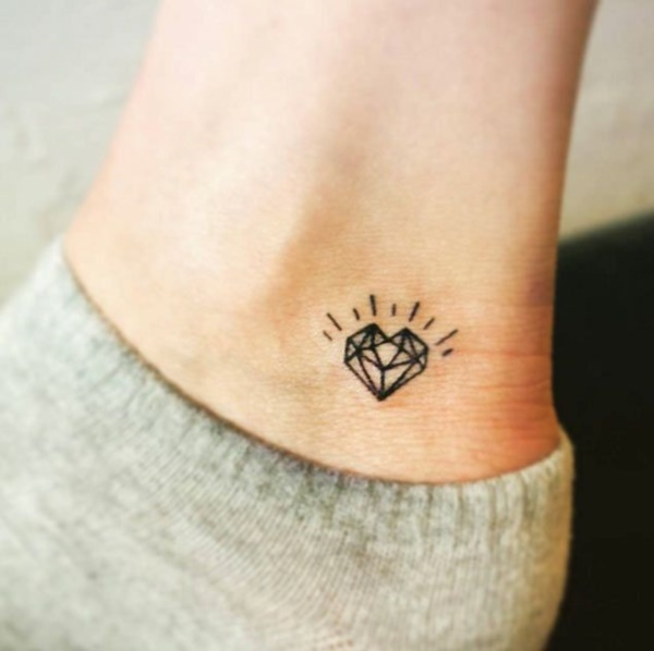 60+ Small Diamond Tattoo Designs to Show Long,Lasting Value