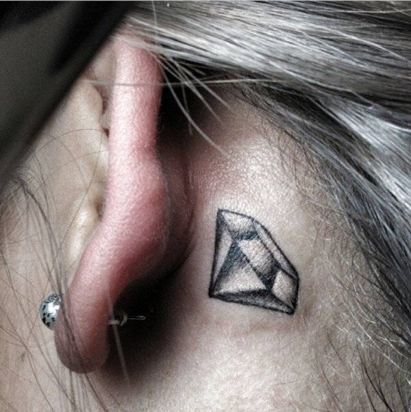 60 Small Diamond Tattoo Designs To Show Long Lasting Value With Ink
