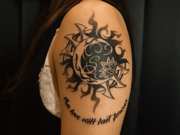 80 Sun And Moon Tattoo Designs With Meanings